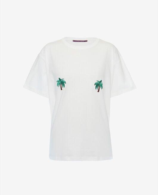 T-shirt manches courtes Palmeraie Summer