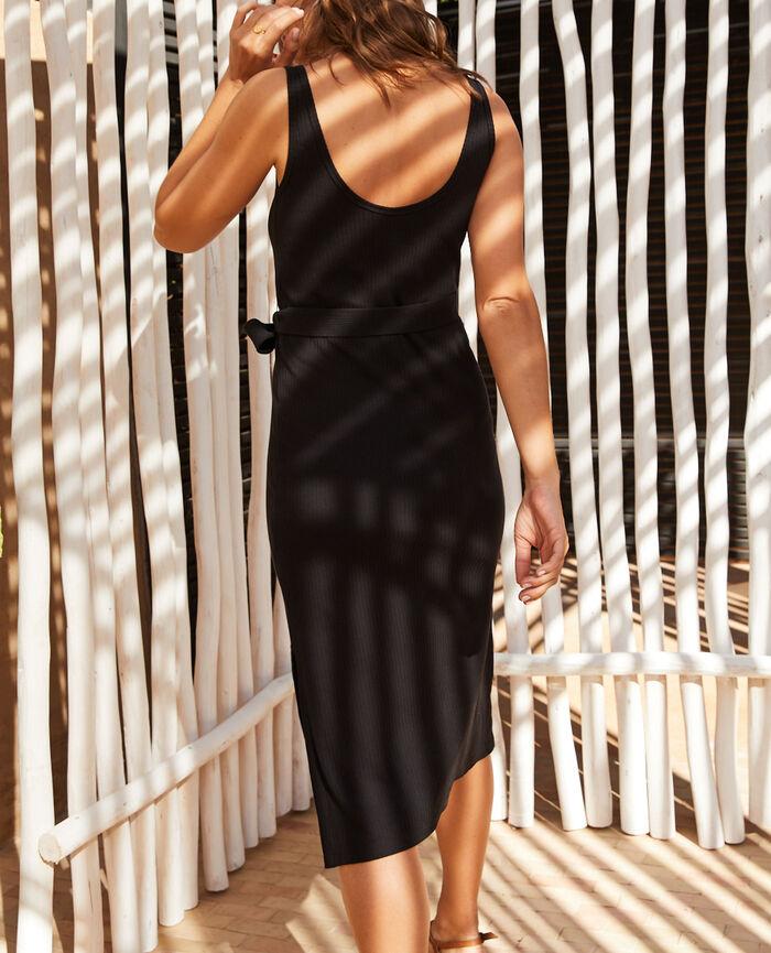 Robe longue Noir Cote a cote