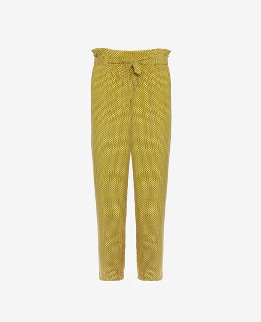 Pantalon de pyjama Cravate jaune Pictural