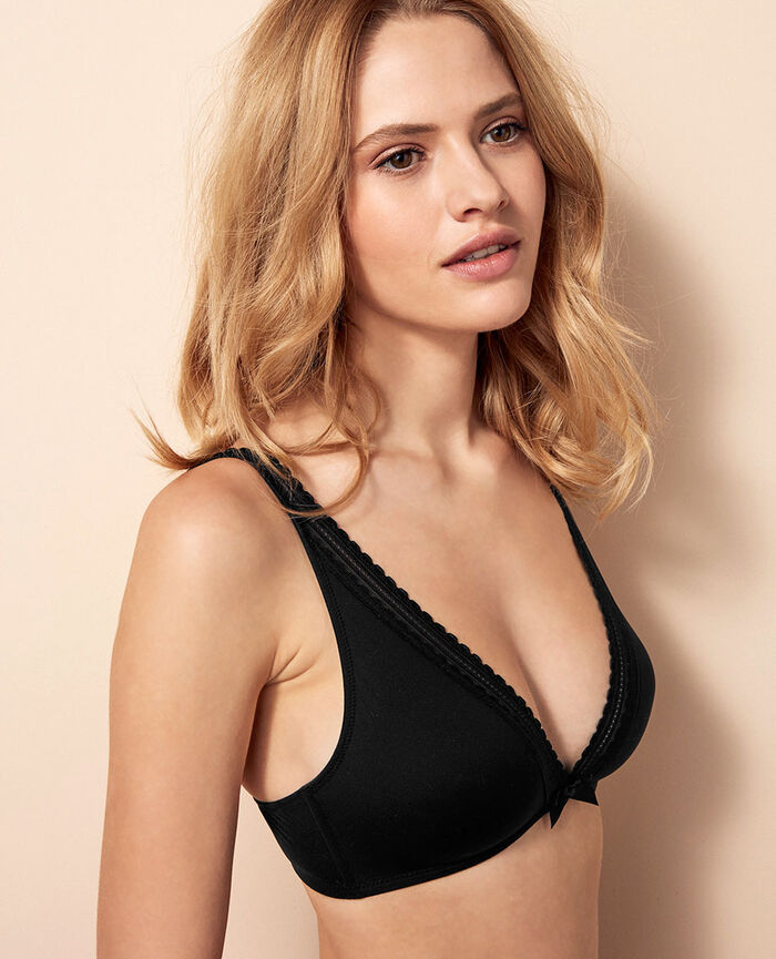 Soft cup bra Black Beaute