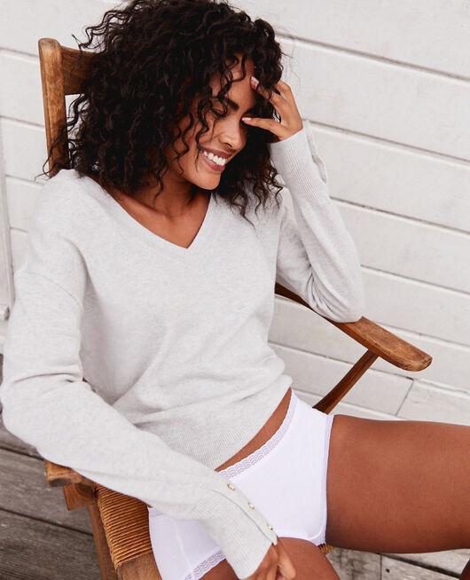 Shorty Blanc Basics