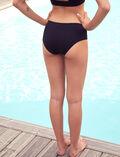 Sports swim briefs Black Aqua