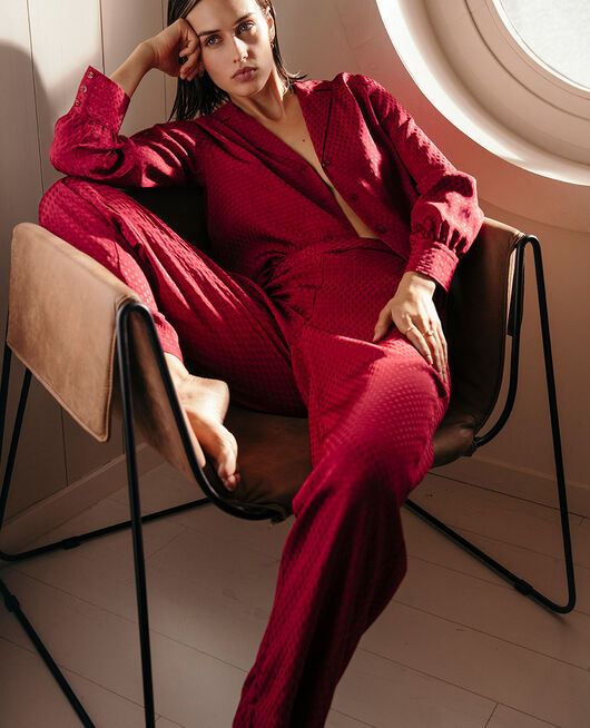 Trousers Camelia red Boudoir