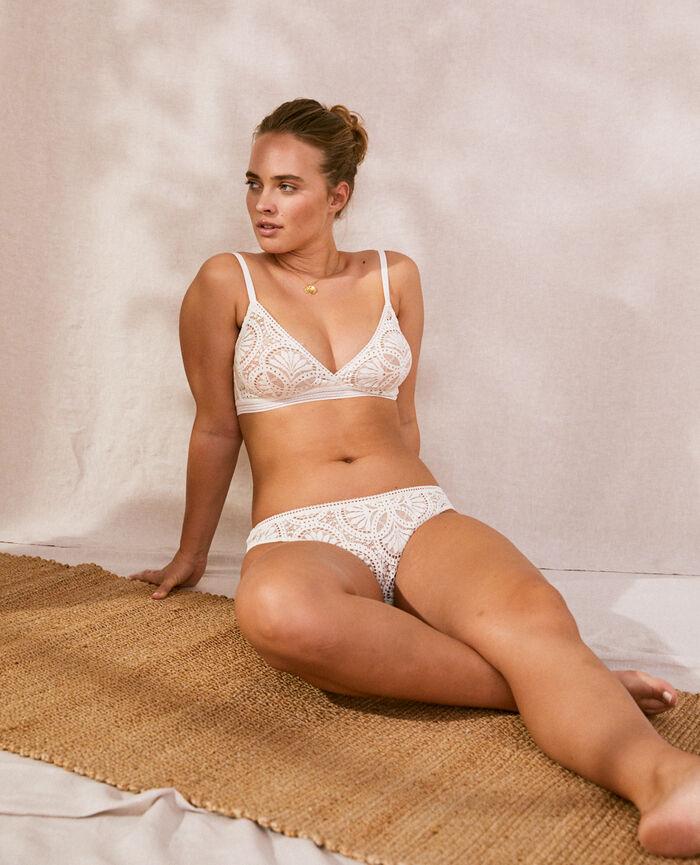 Soft cup bra Cream white Eve