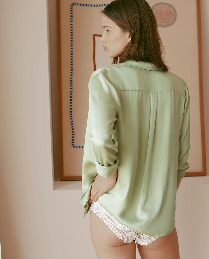 Pyjama jacket Green haze Attitude