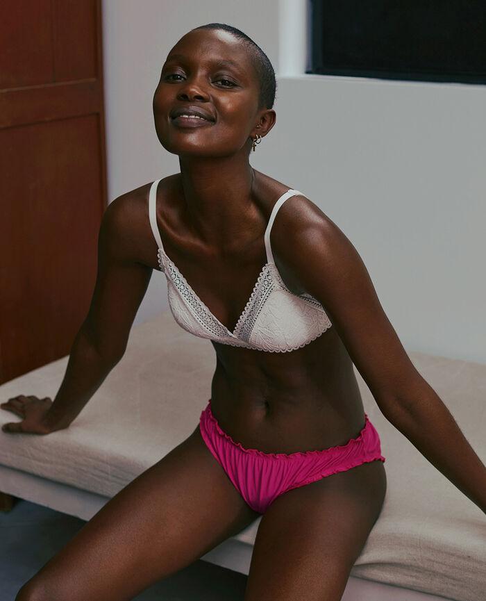 Wireless padde bra Rose white Evidence