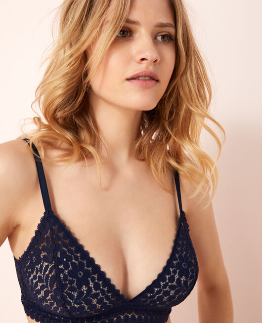 Soft cup bra Navy Monica