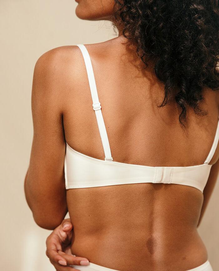 Soft cup bra Rose white Secret