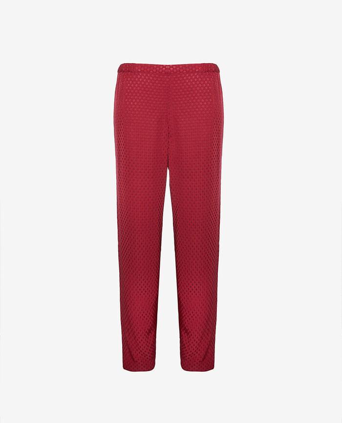 Pantalon Rouge camelia Boudoir