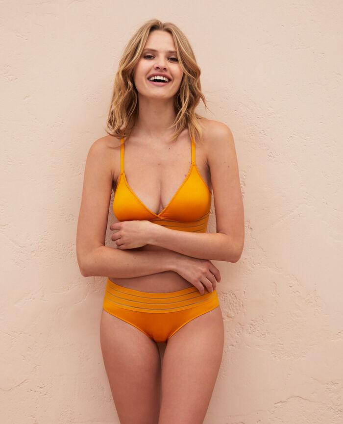 Shorty Jaune sahara Air lingerie