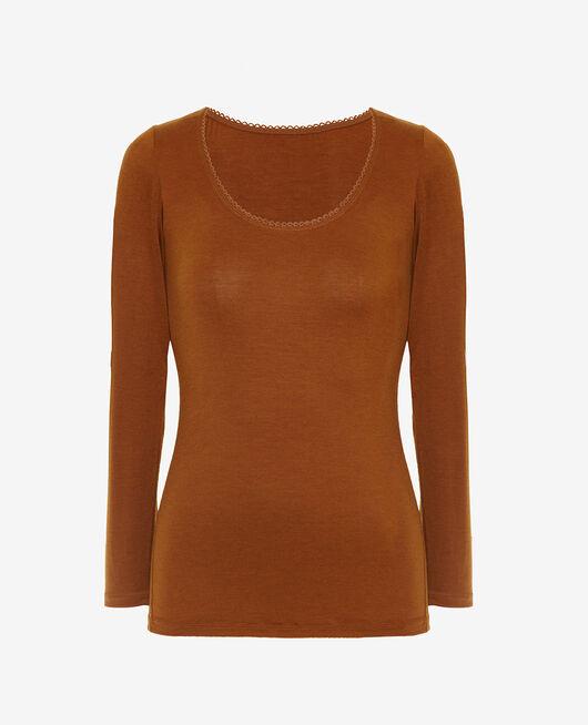Long sleeved top Bronze Innerwear