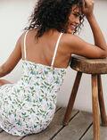Slip dress Jasmin rose white Take away