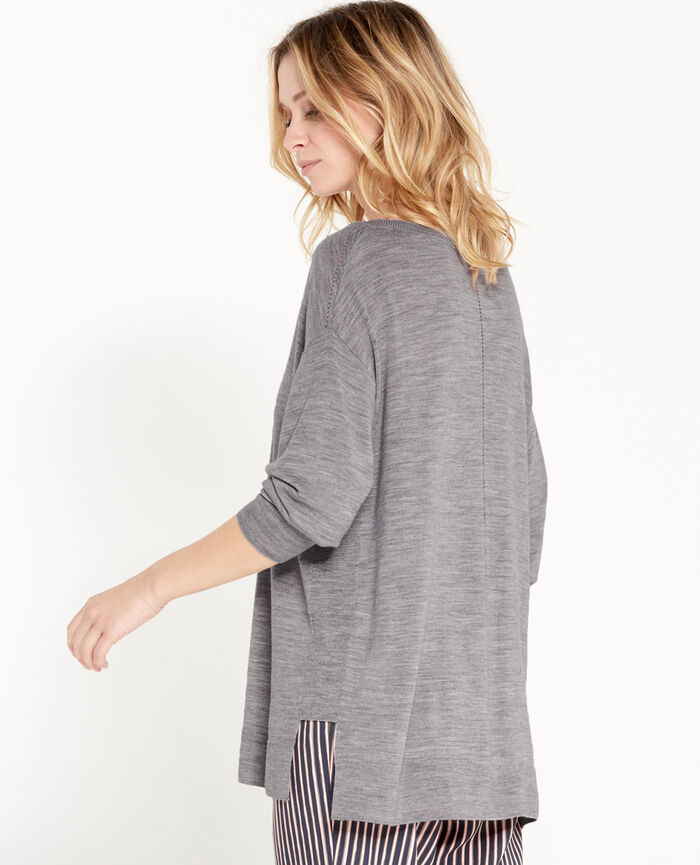 Pull Gris chiné Extra