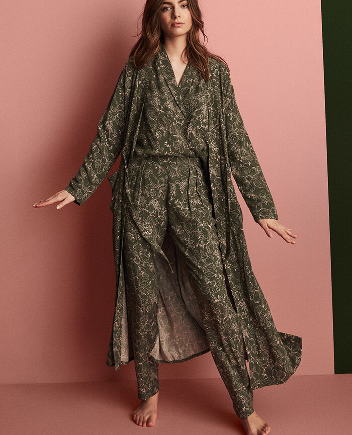 Pyjama pants Azalee green Pictural