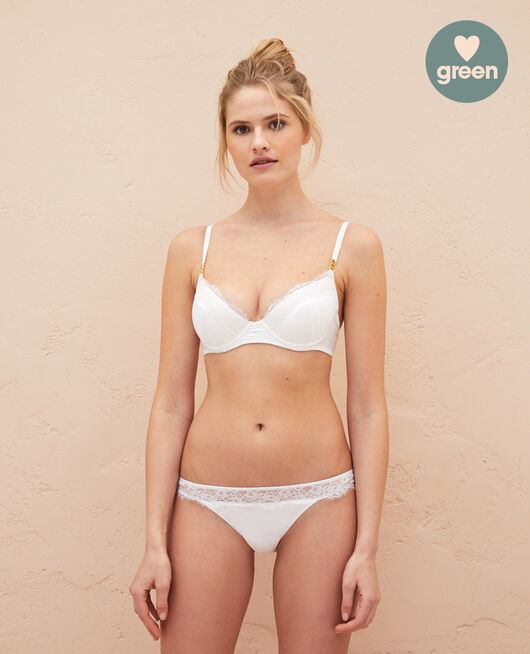 High-cut briefs Rose white Habibi