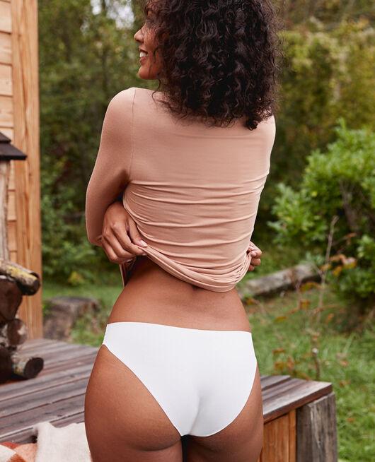 Culotte taille basse Blanc rosé Fantome