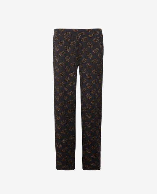 Trousers Leaves noir Dimanche