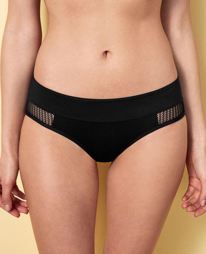 Boypant bikini bottom Black Bagheera