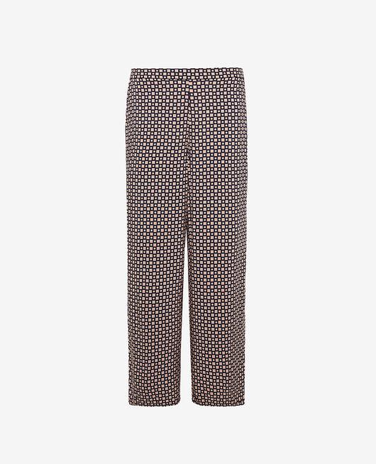 Pantalon gaucho Cravate bleu marine Pyjmania
