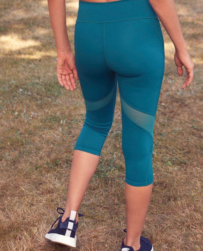 Legging de running court Vert mezcal Run