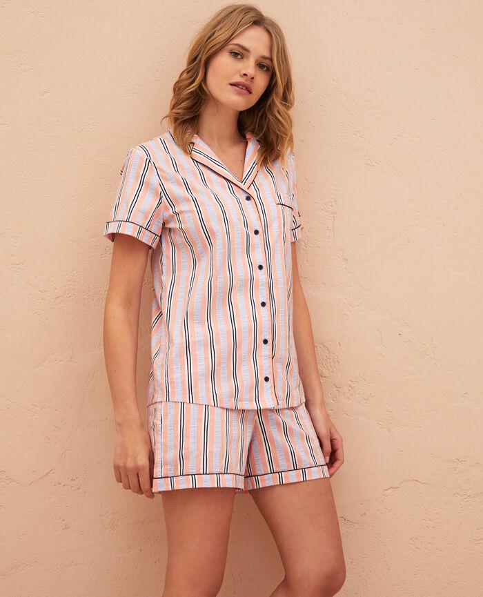 Pyjama set Stripe baby pink Princesse tam.tam x uniqlo