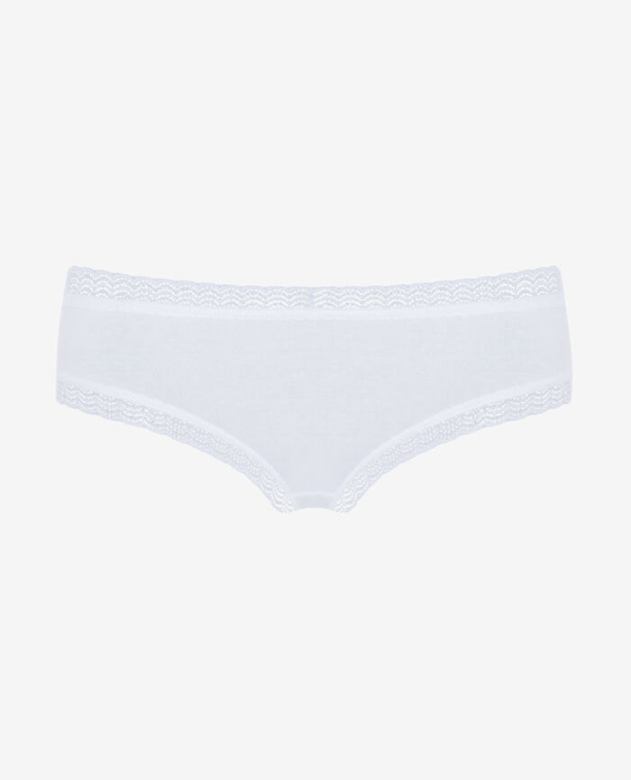 Culotte taille basse Blanc Basics