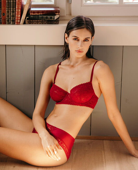 Underwired bra Camelia red Josephine