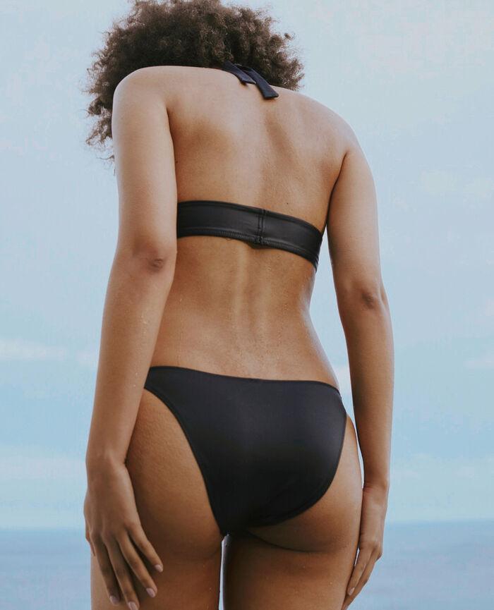 Padded triangle bikini top Black Impala