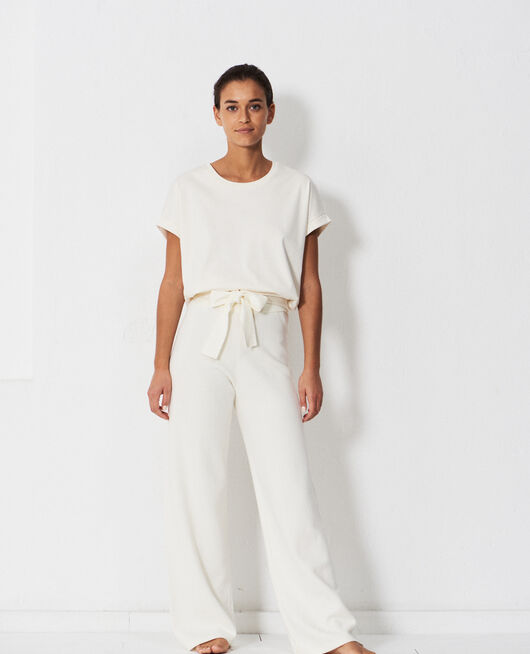 Trousers Ivory Naturel