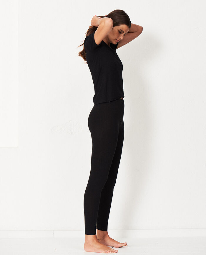 Leggings Black Tamtam shaker