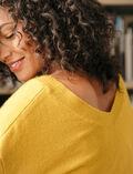 V-neck jumper Absinthe yellow Icone