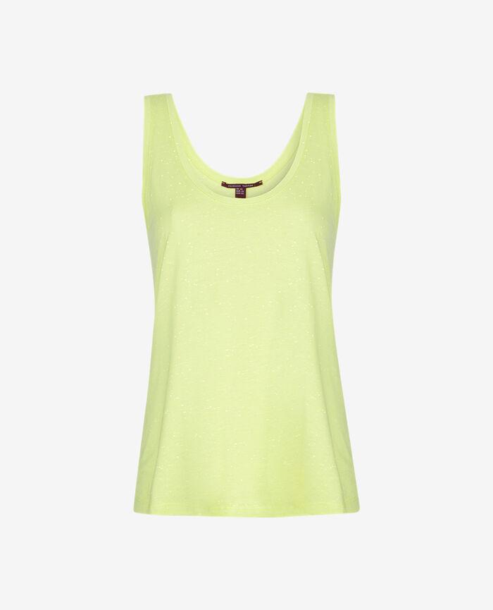 Vest top Yellow Laser