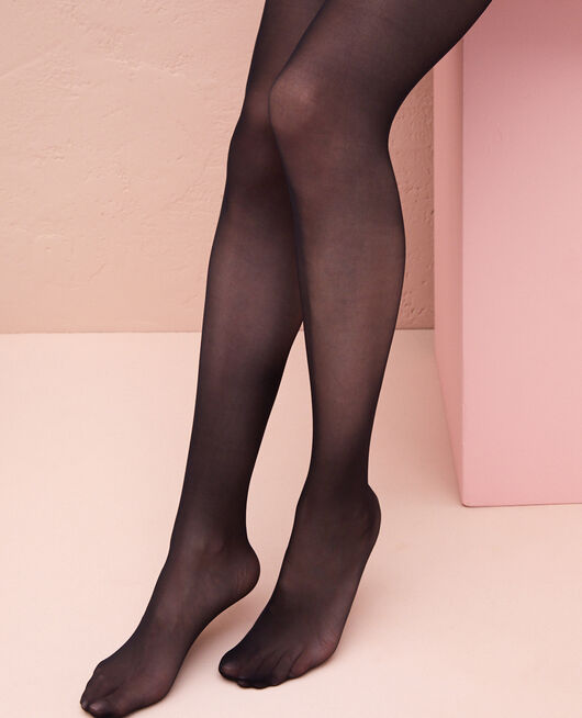 Basic tights 20d Black Mambo
