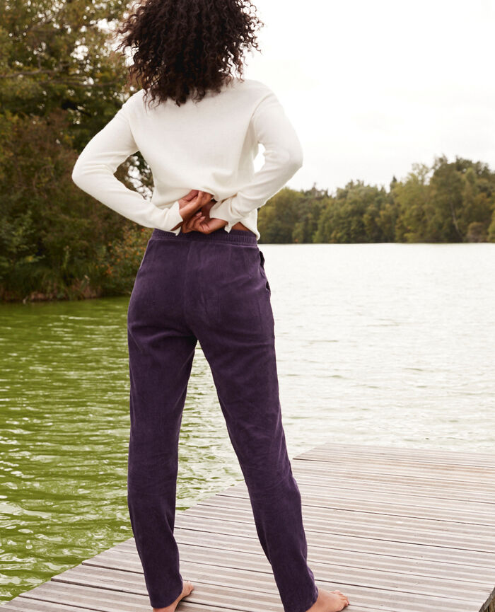 Pantalon Bleu cabaret Allure
