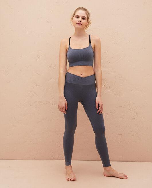 Legging de sport Gris chiné Yoga d212d108cbd