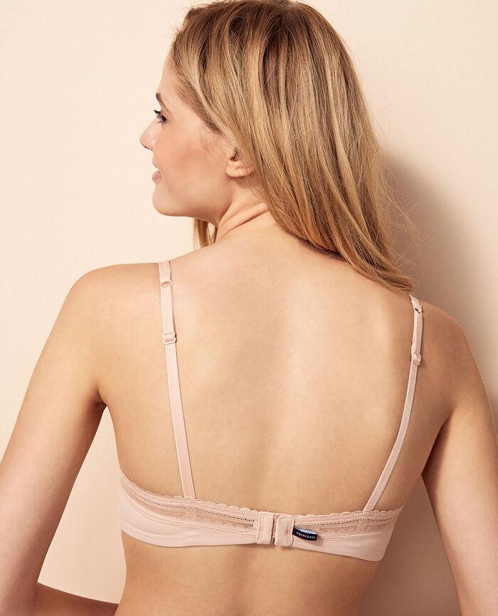 Progressive-cup push-up bra Powder Beaute