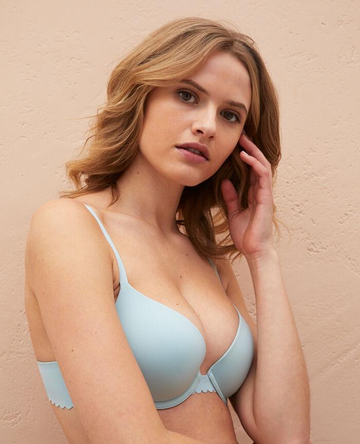 Contour push-up bra Mosaic green Secret