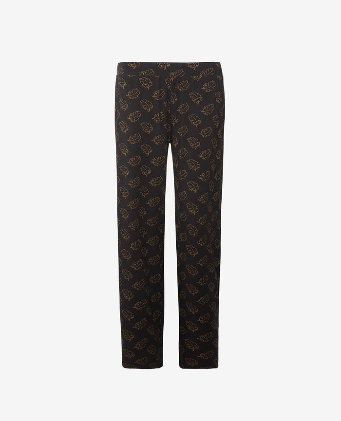 Pantalon Leaves noir Dimanche