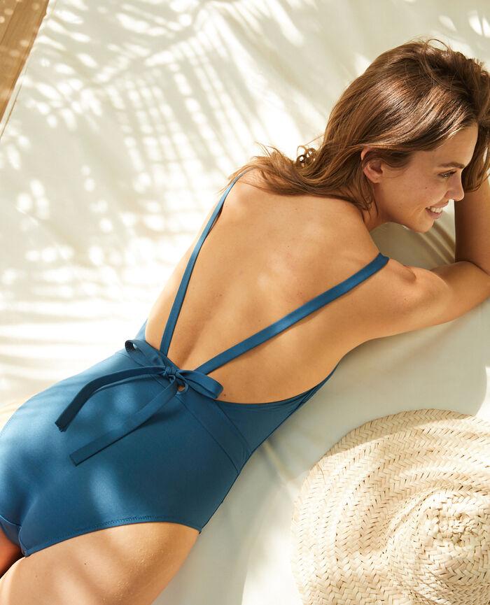 Maillot de bain une pièce paddé Bleu sombrero Impala