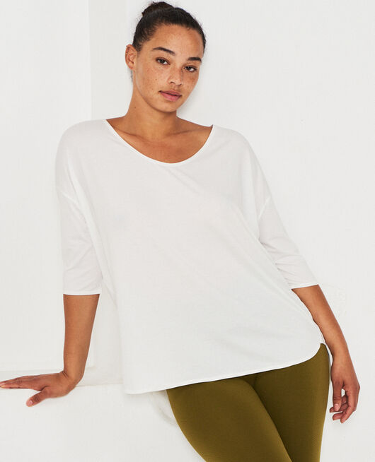 Short-sleeved sports top White Airism
