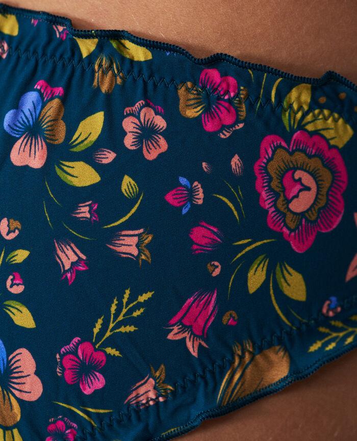 Culotte froufrou Liberty bleu sombrero Take away