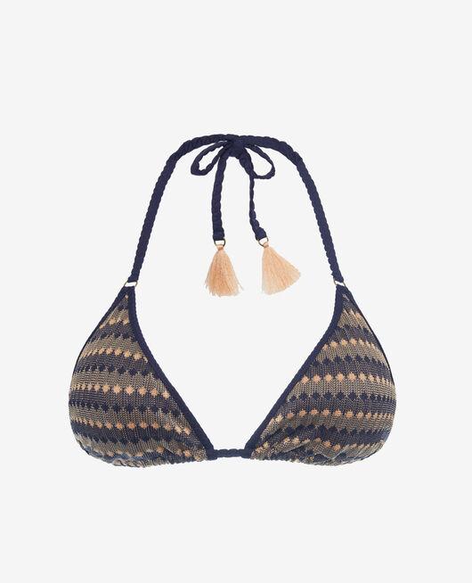 Padded triangle bikini top Multicolour Nour