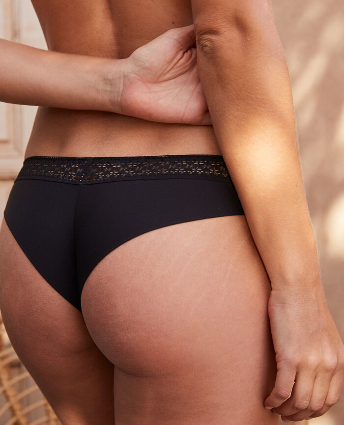 Brazilian briefs Black Simone