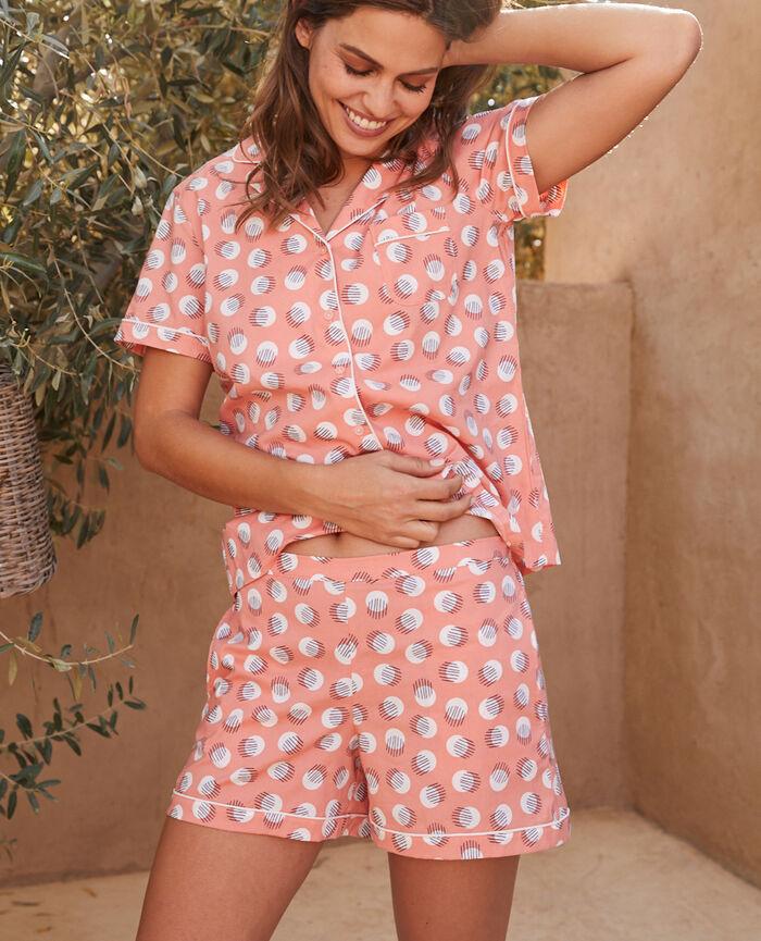 Pyjama set Doll pink polka dots Tutti frutti