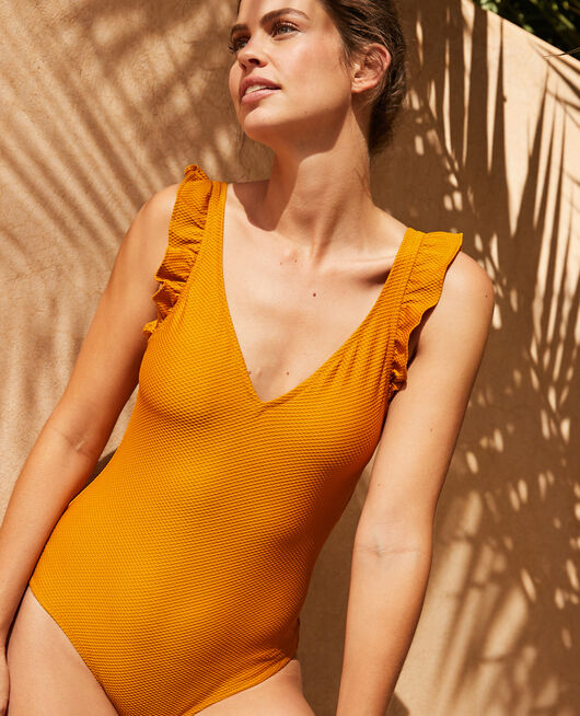 Swimsuit Cumin yellow Farah
