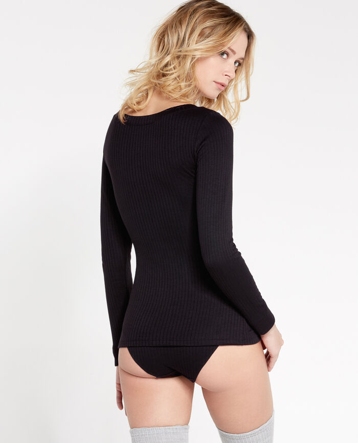 Long-sleeved t-shirt Black Infinity