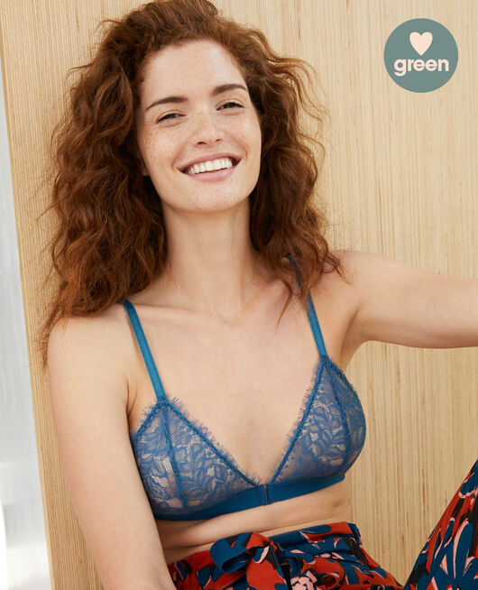 Soft cup bra Jazz blue Nuit