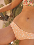 Printed briefs Apricot pink daisy Take away