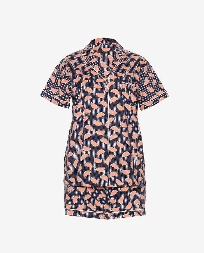Pyjama set Navy blue fruit Tutti frutti
