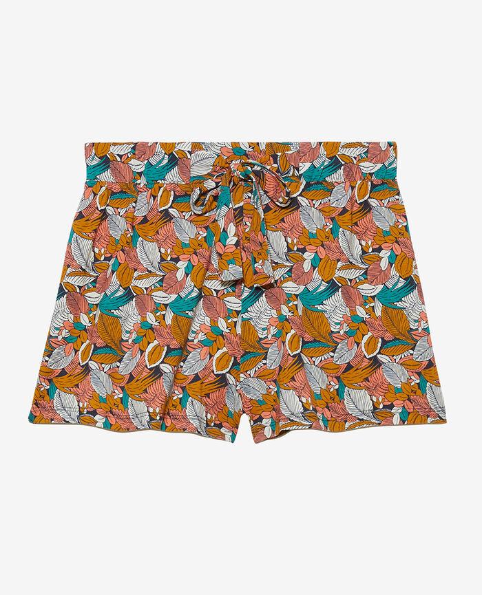 Short de pyjama Amazonie vert aquatique Tam tam shaker